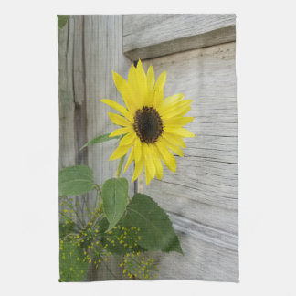 Sunflower and Dill Kitchen Towel