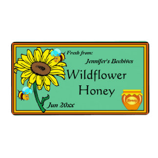 Sunflower and Honey Pot
