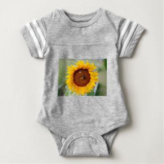 Sunflower Baby Football Bodysuit