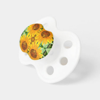 Sunflower Baby Pacifier