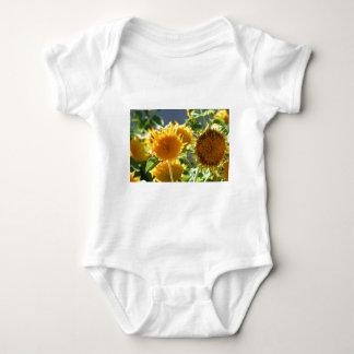 Sunflower Baby T-dhirt Baby Bodysuit