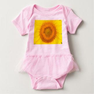 Sunflower Baby Tutu Body Suit Baby Bodysuit
