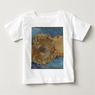 Sunflower background baby T-Shirt