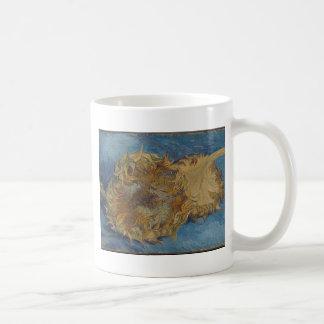 Sunflower background coffee mug