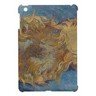 Sunflower background iPad mini case