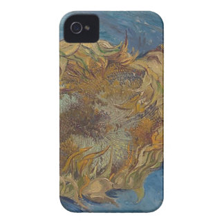 Sunflower background iPhone 4 cases