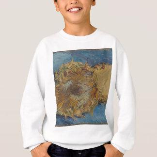 Sunflower background sweatshirt