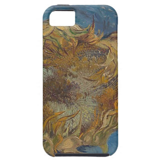 Sunflower background tough iPhone 5 case
