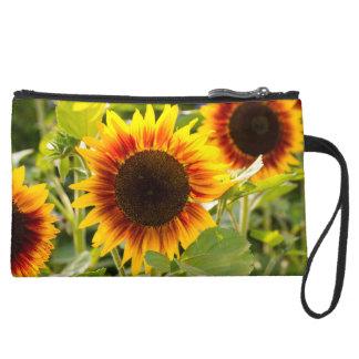 Sunflower Wristlet Clutch