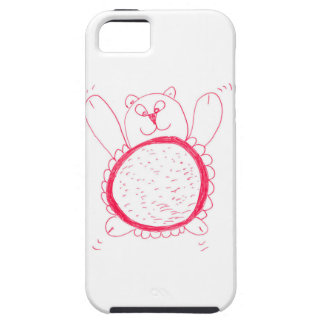 Sunflower Bear iPhone Case-Mate Tough case for 5E,