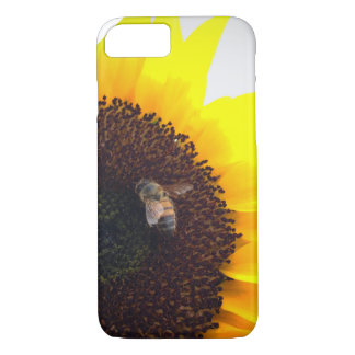 Sunflower Bee Calls iPhone 8/7 Case