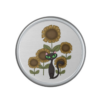 Sunflower Black Cat Speaker