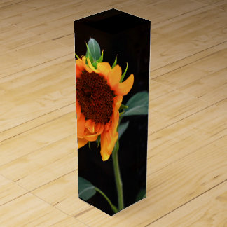Sunflower black wine box