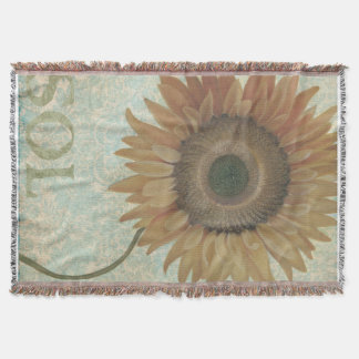 Sunflower Blanket/Throw Throw Blanket