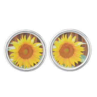 Sunflower Bloom Cufflinks