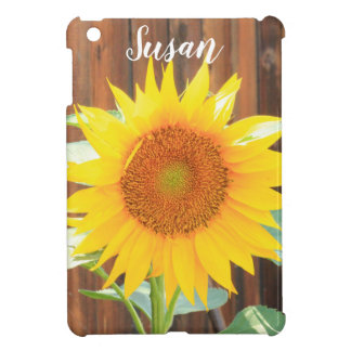 Sunflower bloom ipad case