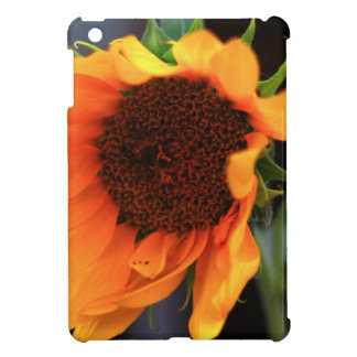 Sunflower bloom iPad mini cover