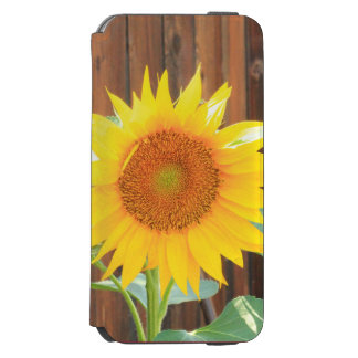 Sunflower Bloom phone case Incipio Watson™ iPhone 6 Wallet Case