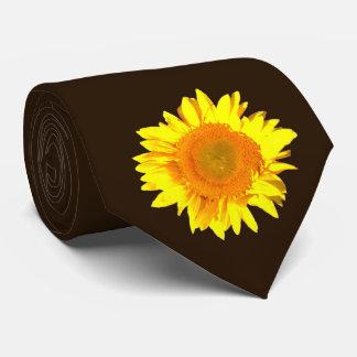 Sunflower Blown FamilyTie for Men Tie