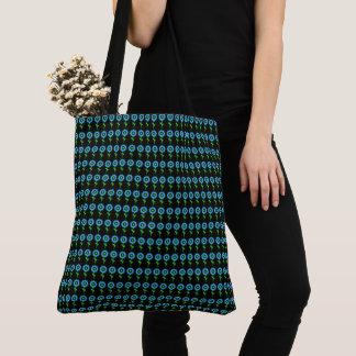 Sunflower-Blue-Mod--Totes-Shoulder-Bags Tote Bag