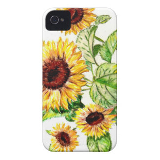 Sunflower Bouquet iPhone 4/4s Case-Mate Case