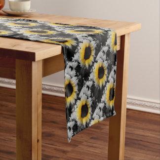 Sunflower Burst Short Table Runner