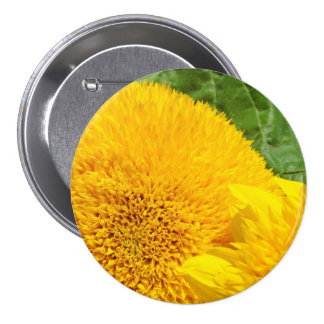 Sunflower Buttons Personalize custom Sunflowers