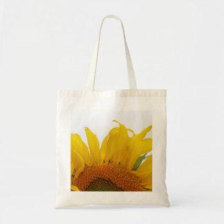 Sunflower Canvas Tote Design One