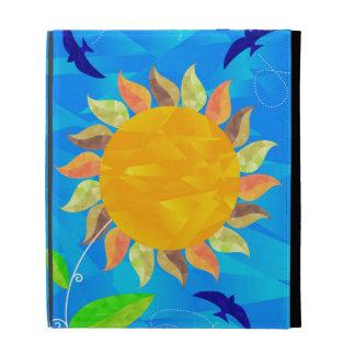 Sunflower iPad Folio Cover