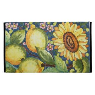 Sunflower iPad Folio Cases