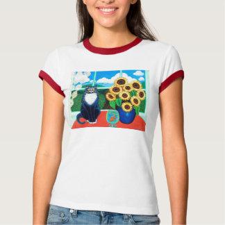 Sunflower Cat-toddler T-Shirt