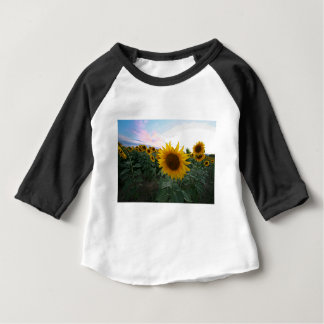 Sunflower Closeup Baby T-Shirt