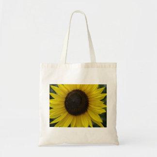 Sunflower Closeup Tote Bag