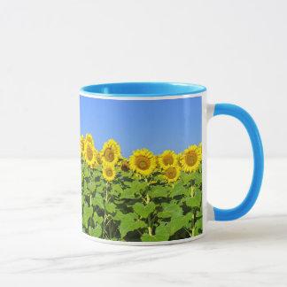 Sunflower Coffee Cup