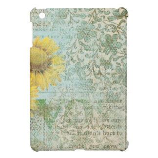 Sunflower Collage iPad Mini Covers