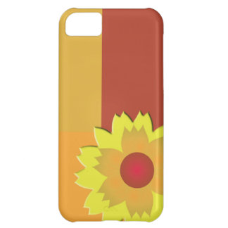 Sunflower Color Block iPhone 5C Case