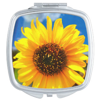 Sunflower Compact Mirror