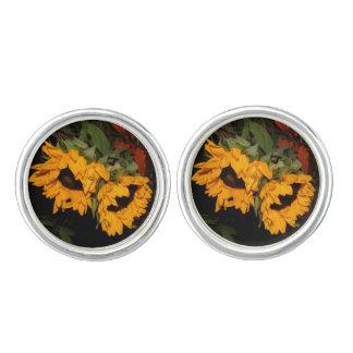 Sunflower Cuff Links