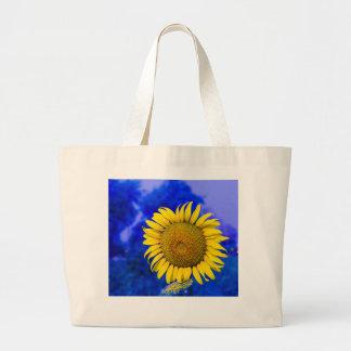Sunflower Custom Jumbo Tote Jumbo Tote Bag