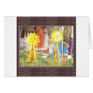 SUNFLOWER decorations at Surajkund Festival India Card