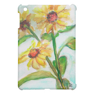 Sunflower design  iPad mini covers