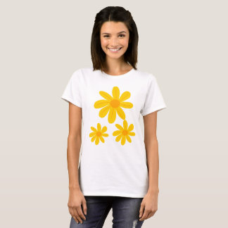 Sunflower Design Tshirt for Women
