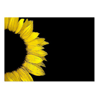 SUNFLOWER DIY Template V3 Pack Of Chubby Business Cards