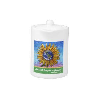 Sunflower Earth Art