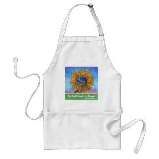 Sunflower Earth Art Standard Apron
