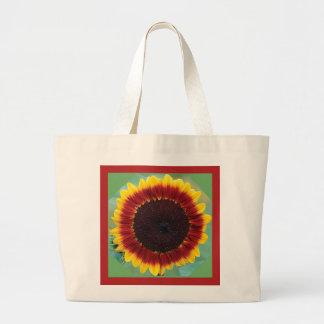SUNFLOWER Eco-Friendly Grocery Tote Jumbo Tote Bag