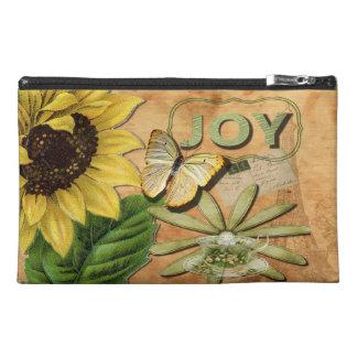 Sunflower & Eiffel Tower, Joy Travel Accessory Bag
