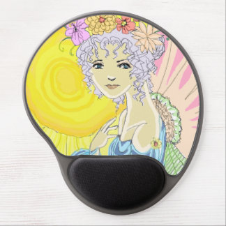 Sunflower Fairy Gel Mouse Pad
