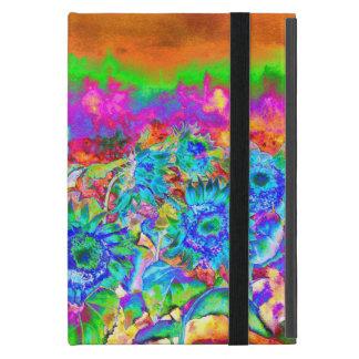 Sunflower fields - blue iPad mini cases