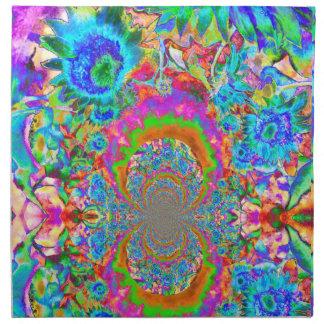 Sunflower Fields Forever - blue Napkin